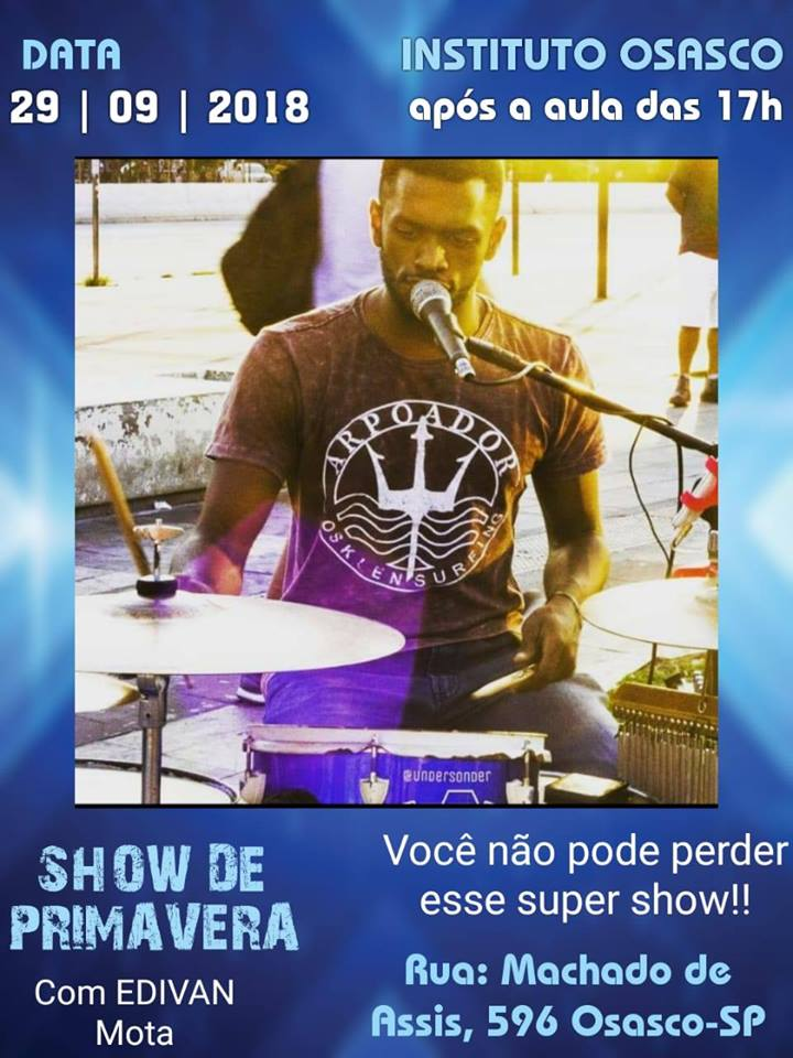 29/09/2018 - Show De Primavera Instituto Osasco