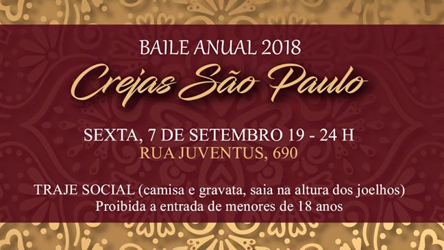 Baile Anual Crejas SP