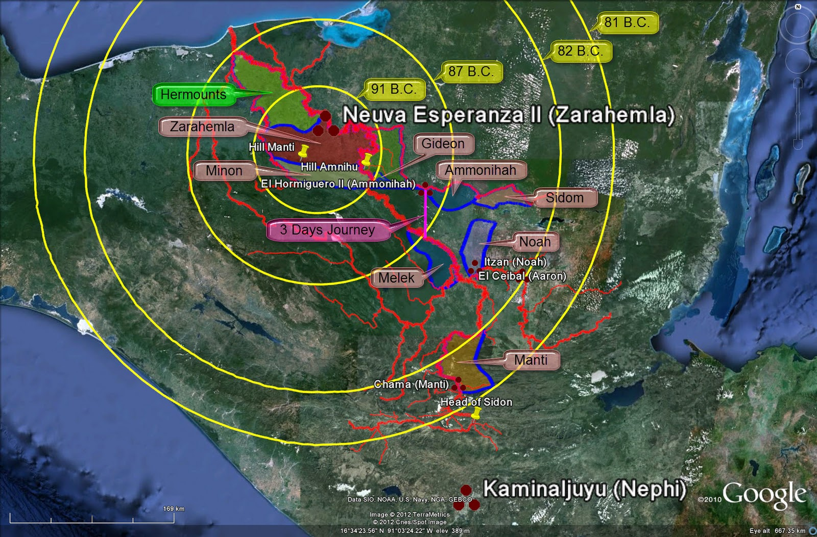 Expansão da População Nefita e Lamanita