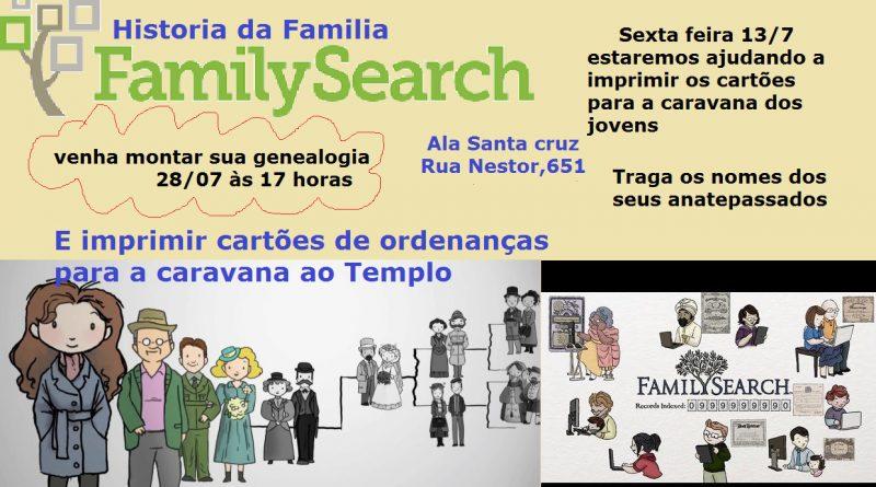 Monte Sua Genealogia - Ala Santa Cruz