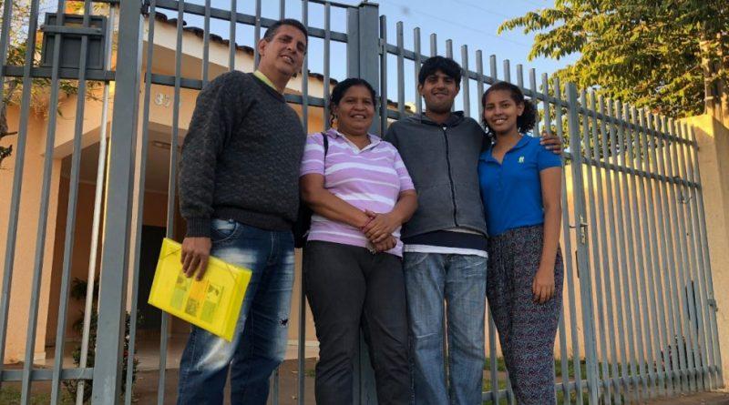 Famílias venezuelanas ganham vida nova em Birigui/SP por meio do Mãos Que Ajudam