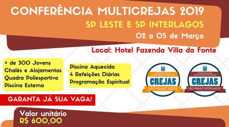02/03/2019 - Conferência Crejas SP Leste e Interlagos 2019
