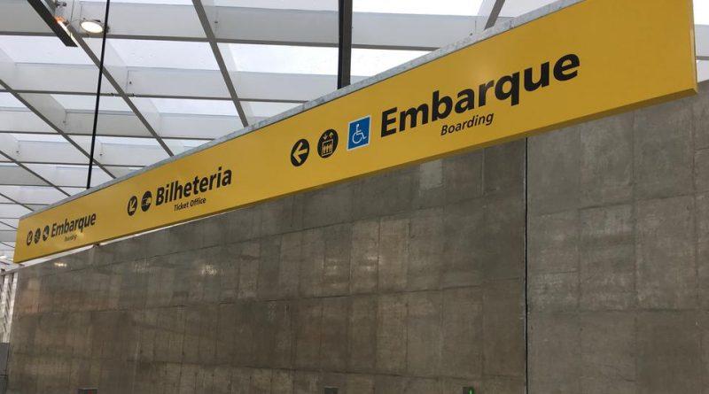 Entrada da Nova Estação Morumbi da Linha 4 do Metrô - ao Lado do Templo de São Paulo © 2018 BY INTELLECTUAL RESERVE, INC. ALL RIGHTS RESERVED.