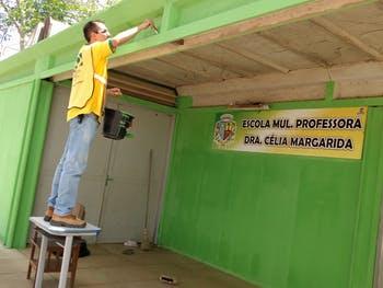 Projeto MÃOS QUE AJUDAM na Educação em Palmeira dos Índios