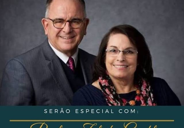 11/11/2018 - SERÃO: MINISTRAR COMO O SALVADOR