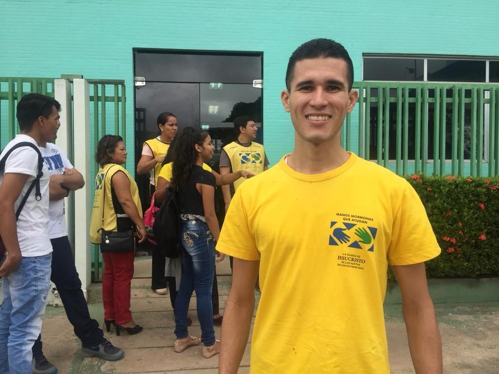 Diogo Santos, diretor assistente de assuntos públicos da Igreja de Jesus Cristo dos Santos dos Últimos Dias — Foto: Ugor Feio/G1