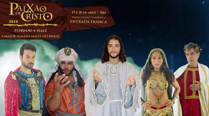 """Ator """"Santos dos Últimos Dias"""" está no Elenco Principal da segunda maior Paixão de Cristo do Brasil, com atores Globais!"""
