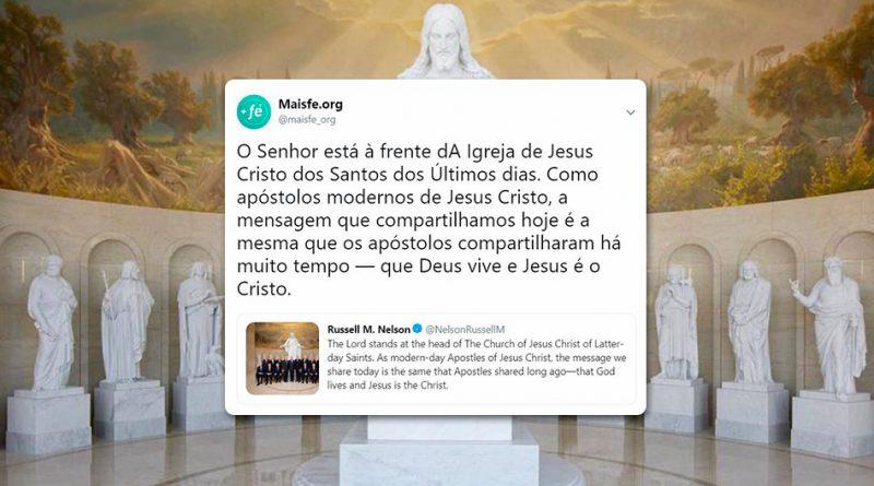 Pres. Nelson compartilha testemunho no Twitter e apóstolos dão RT com o testemunho deles