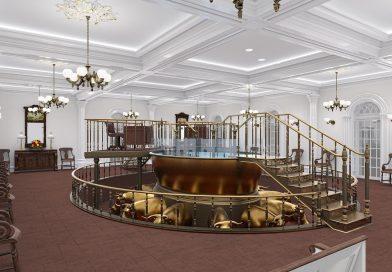Confira imagens de como ficará o templo de St. George após a reforma