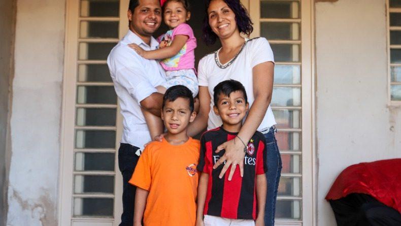 Família Chaparro está morando em Araraquara e reconstruindo a vida (Fotos: Amanda Rocha)