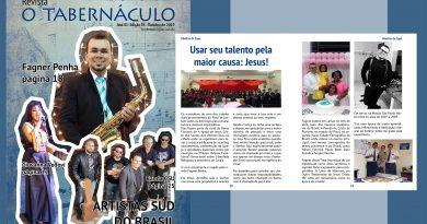 Revista o Tabernáculo Ano 01 – Edição 03 – Outubro de 2019