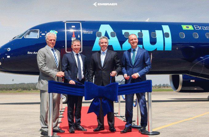 Ponte aérea, aviões novos e possível união com a TAP: o grande ano da Azul
