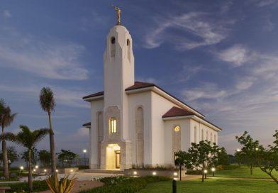 O novo Templo de Durban África do Sul abre suas portas ao público