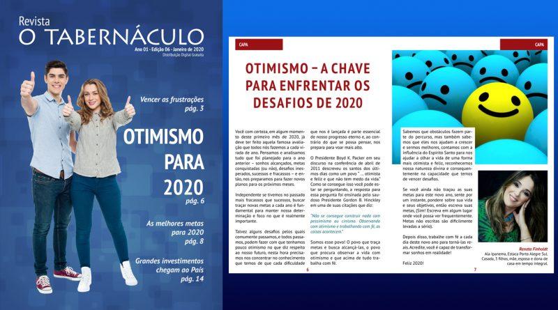 Revista o Tabernáculo Ano 01 – Edição 06 – Janeiro de 2020