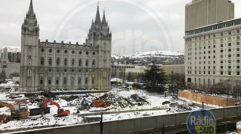 Fotos Exclusivas da Reforma da Praça do Templo de Lake