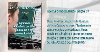 Revista o Tabernáculo Ano 01 – Edição 07 – Fevereiro de 2020