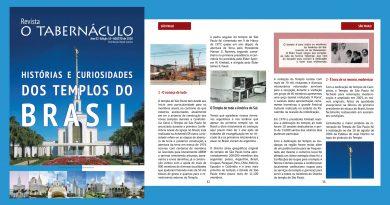 Revista o Tabernáculo Ano 02 – Edição 10 – Especial Templos do Brasil – Agosto de 2020