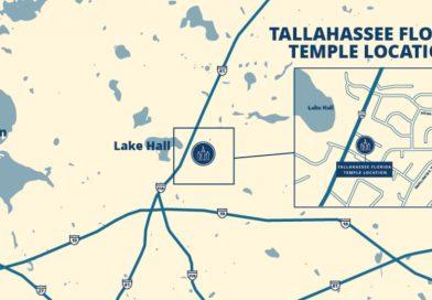 Confira como vai ser o Templo de Tallahassee Flórida