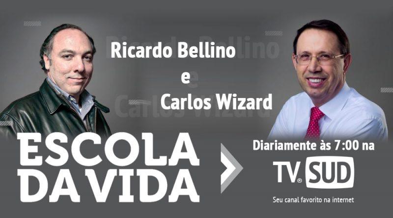 Carlos Wizard Martins Transmitirá Escola de Vida diretamente no Canal TV SUD no YouTube