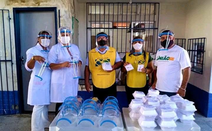 Projeto Mãos Que Ajudam A Aliviar A Pandemia E UniãoSE Realizam Mais Uma Ação Solidária
